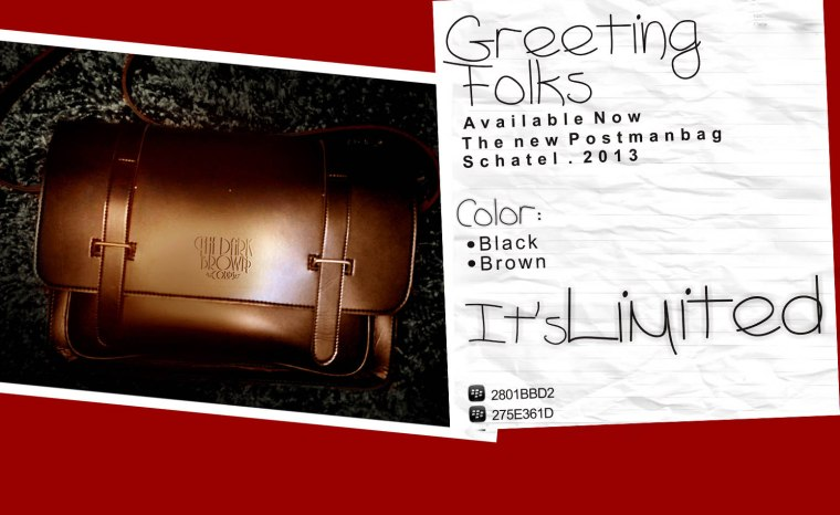 the new postmanbag schatel 2013